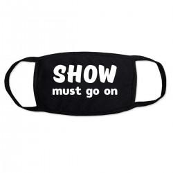 """Маска с принтом """"Show must go on-2"""""""