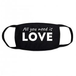 """Маска с принтом """"All you need is LOVE-2"""""""