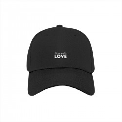 """Бейсболка с принтом """"All you need is LOVE-2"""""""