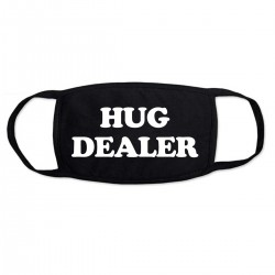 """Маска с принтом """"Hug dealer"""""""