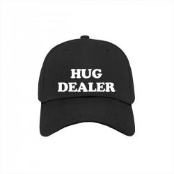 """Бейсболка с принтом """"Hug dealer"""""""