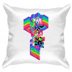 "Подушка с принтом ""Pixel art"""