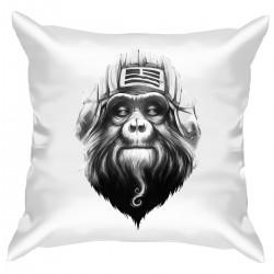"""Подушка с принтом """"Monkey art"""""""