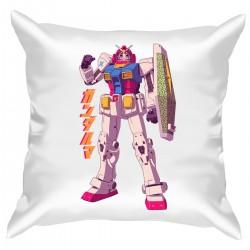 """Подушка с принтом """"Gundam"""""""