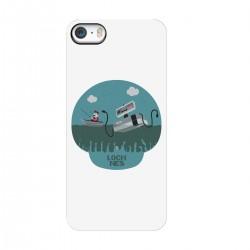 """Чехол для Apple iPhone с принтом """"Loch nes"""""""