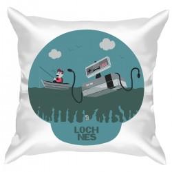 "Подушка с принтом ""Loch nes"""