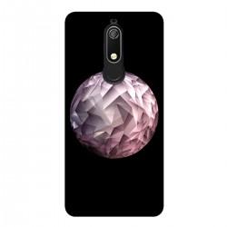 """Чехол для Nokia с принтом """"Геометрическая луна"""""""