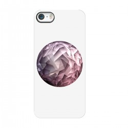 """Чехол для Apple iPhone с принтом """"Геометрическая луна"""""""