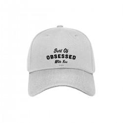 "Бейсболка с принтом ""Sort of obsessed with you-1"""