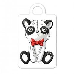"""Брелок с принтом """"Грустная панда"""""""