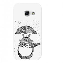 """Чехол для Samsung с принтом """"Тоторо под дождем"""""""