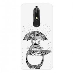 """Чехол для Nokia с принтом """"Тоторо под дождем"""""""