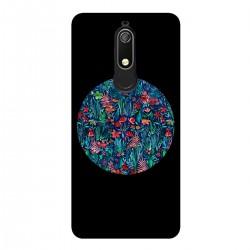 """Чехол для Nokia с принтом """"Цветочный круг"""""""