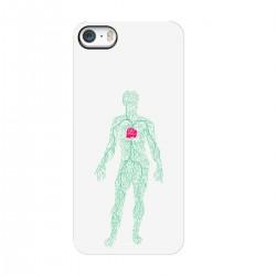 """Чехол для Apple iPhone с принтом """"Роза в теле мужчины"""""""