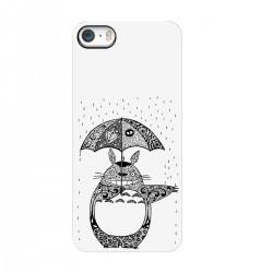 """Чехол для Apple iPhone с принтом """"Тоторо под дождем"""""""