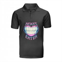 """Поло с принтом """"Heart eater"""""""