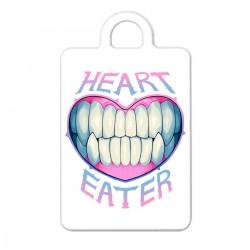 "Брелок с принтом ""Heart eater"""