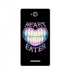 "Чехол для Sony с принтом ""Heart eater"""
