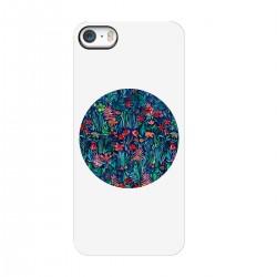 """Чехол для Apple iPhone с принтом """"Цветочный круг"""""""