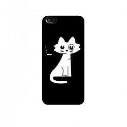 """Чехол для Xiaomi с принтом """"Кошка с сигаретой"""""""