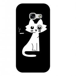 """Чехол для Samsung с принтом """"Кошка с сигаретой"""""""
