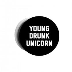 """Попсокет с принтом """"Young drunk unicorn"""""""