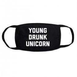 """Маска с принтом """"Young drunk unicorn"""""""