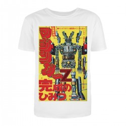 """Футболка с принтом """"Японский робот"""""""