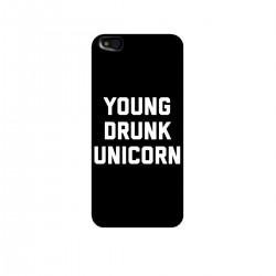 """Чехол для Xiaomi с принтом """"Young drunk unicorn"""""""