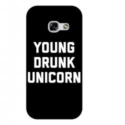 """Чехол для Samsung с принтом """"Young drunk unicorn"""""""