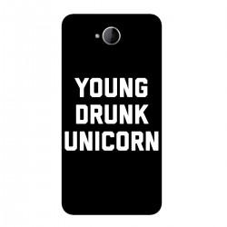 """Чехол для Microsoft с принтом """"Young drunk unicorn"""""""