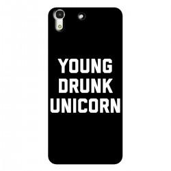"""Чехол для HUAWEI с принтом """"Young drunk unicorn"""""""