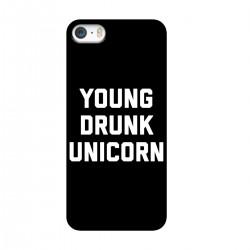 """Чехол для Apple iPhone с принтом """"Young drunk unicorn"""""""