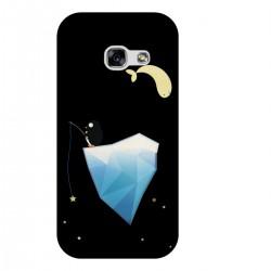 """Чехол для Samsung с принтом """"Пингвин на айсберге"""""""