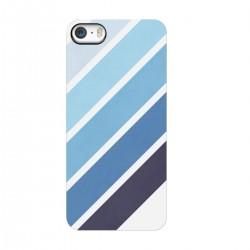 """Чехол для Apple iPhone с принтом """"Голубые полоски"""""""