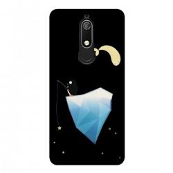 """Чехол для Nokia с принтом """"Пингвин на айсберге"""""""