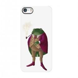 "Чехол для Apple iPhone с принтом ""Мистер лягушка"""