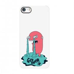 """Чехол для Apple iPhone с принтом """"Get over it"""""""