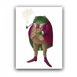 """Холст с принтом """"Мистер лягушка"""" (30x40 cм)"""