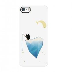 """Чехол для Apple iPhone с принтом """"Пингвин на айсберге"""""""