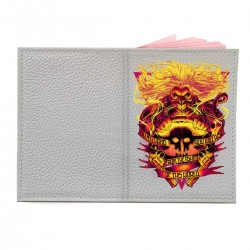 """Обложка на паспорт с принтом """"Бессмертный Джо"""""""