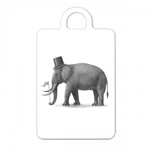 """Брелок с принтом """"Слон"""""""