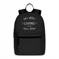 """Рюкзак с принтом """"LIVING"""""""
