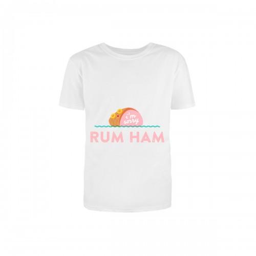 """Футболка детская с принтом """"Rum Ham"""""""