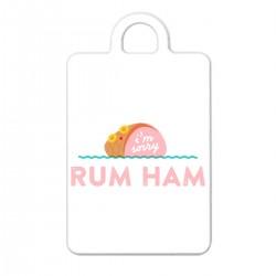 """Брелок с принтом """"Rum Ham"""""""