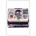 "Холст с принтом ""Polaroid"" (20x30cм)"