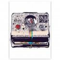 "Холст с принтом ""Polaroid"" (30x40 cм)"