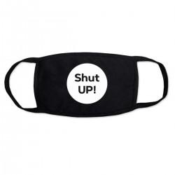 """Маска с принтом """"shutup"""""""