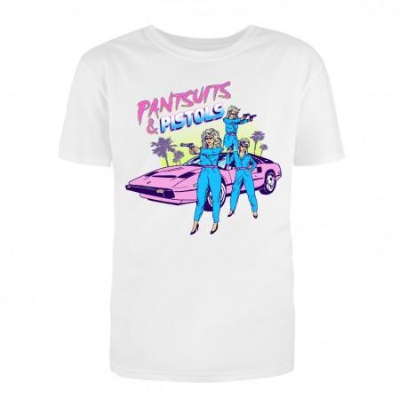 """Футболка с принтом """"Pantsuits and Pistols"""""""
