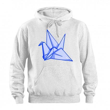 """Толстовка с принтом """"Оригами"""""""